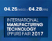 International Manufacturing Technology (PPURI) Fair 2017