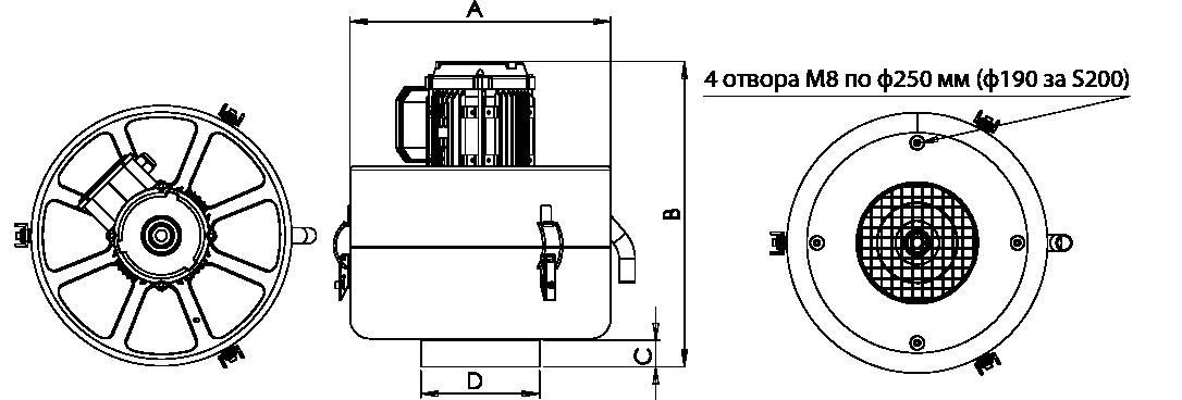 S Series GA Drawing