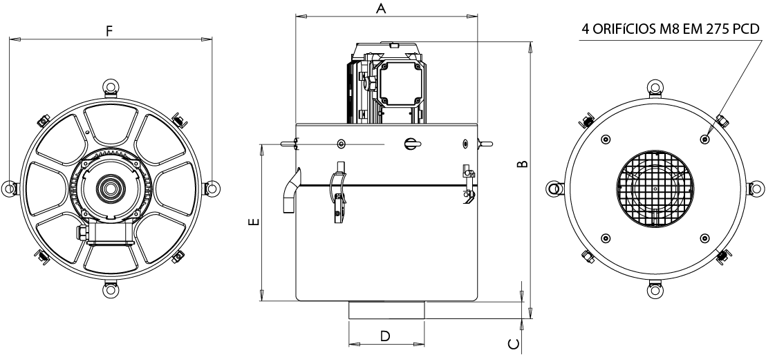 FX Series GA Drawing