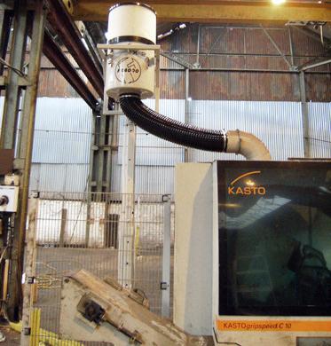 FX4000 Oil Mist Filter, Kasto Gripspeed