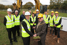 Filtermist marks start of work on site at new £3m global HQ