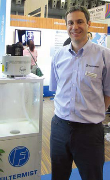 International Metalworking News for Asia interviews Filtermist MD