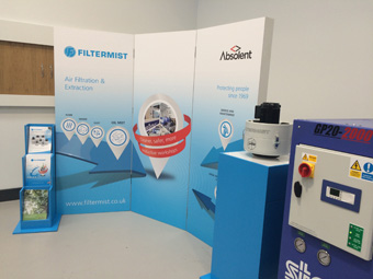 Filtermist on permanent display in Star GB's new UK showroom