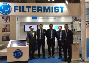 Filtermist showcases global reach at JIMTOF