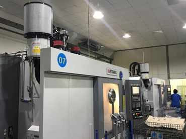 S Fusion removes submicron oil mist particles from Stama machines for Shanghai manufacturer