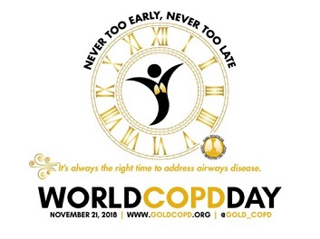World COPD Day – 21st November 2018