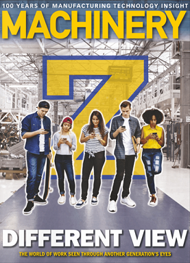 Director of Group UK Sales talks to Machinery magazine about Generation Z