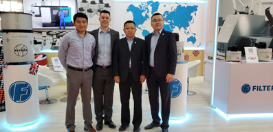 Global oil mist removal capability on show at CIMT 2019 in China